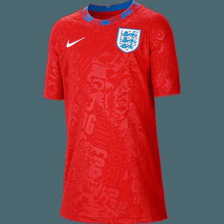Nike Inglaterra Camiseta pre-partido para Niños