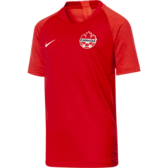 Nike Canada 2019 Home Youth Stadium Jersey