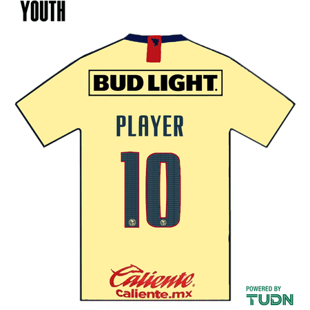 Club America 2019-20 Youth Name Set