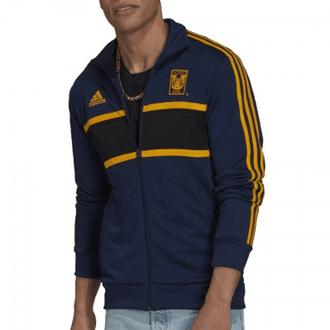 Adidas 2021-2022 Tigres UANL 3 Stripe Track Top Jacket