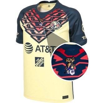 Nike Club America 2021-22 Youth 40th Anniversary Eagle Home Stadium Jersey