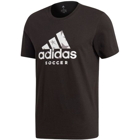 adidas Badge of Sport Soccer Short Sleeve Graphic Tee