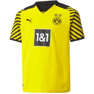 Puma BVB Dortmund 2021-2022 Youth Home Stadium Jersey
