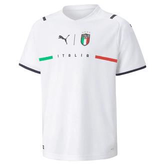Puma Italy 2021 Away Youth Stadium Jersey