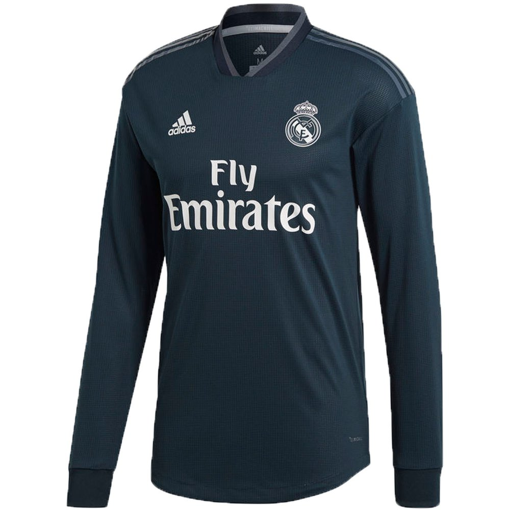 online retailer 477f6 b3da6 adidas Real Madrid 2018-19 Away Authentic LS Jersey ...