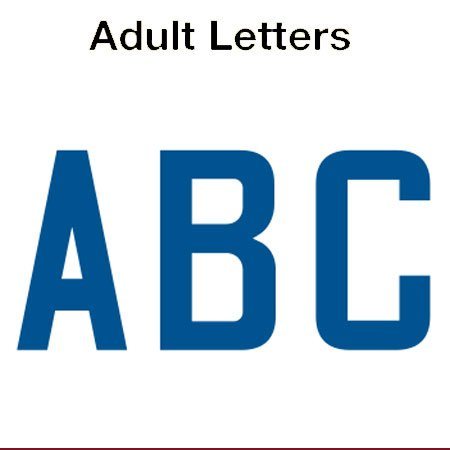 United States 2018 Adult Letters