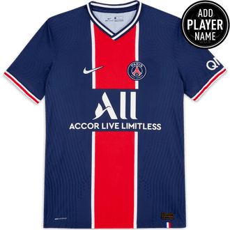 Nike PSG 2020-21 Playera Local Vapor Match Auténtica