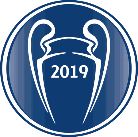 UEFA Champions League Winners 2019 Badge