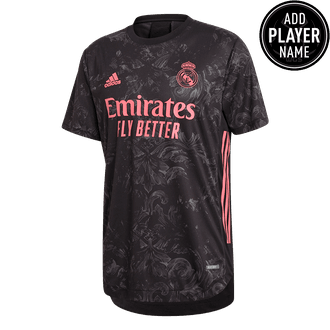 Adidas 20-21 Real Madrid Auth 3rd Jersey