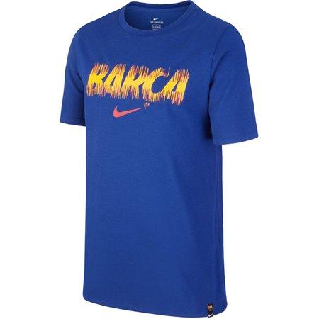 Nike FC Barcelona Youth Dry Tee Preseason