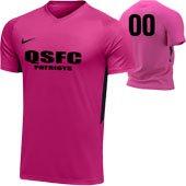 Quickstrike Patriots Pink Jersey