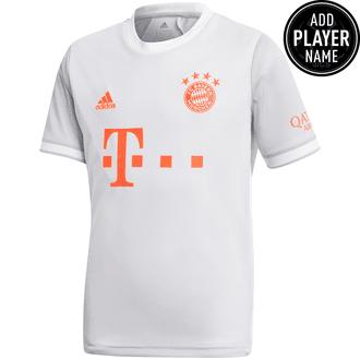 Adidas Bayern Munich Jersey de Visitante 20-21 para Niños
