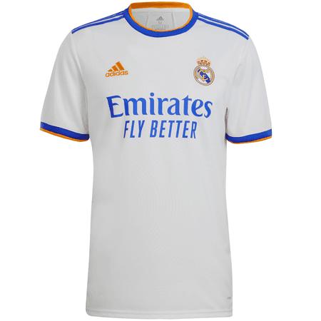 adidas Real Madrid 2021-22 Men's Home Stadium Jersey