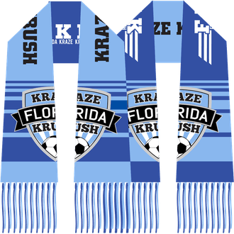 Florida Kraze Krush Custom Knit Scarf