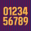 FC Barcelona 2018 Youth Numbers