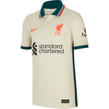 Nike Liverpool FC 2021-22 Away Youth Stadium Jersey