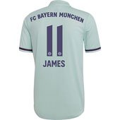 adidas Bayern Munich James Away 2018-19 Replica Jersey