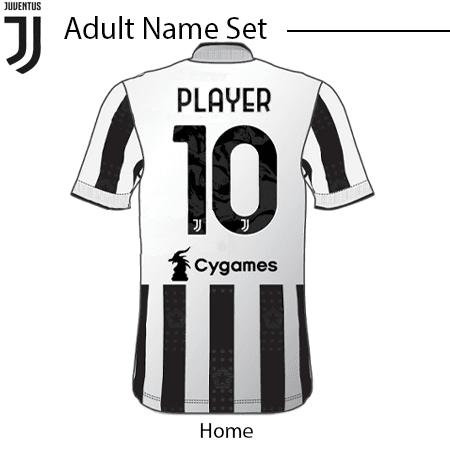 Juventus 21-22 Adult Nameset