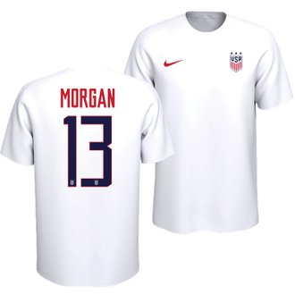 Nike USWNT Youth Alex Morgan 13 Tee