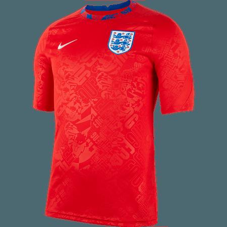 Nike Inglaterra Camiseta de manga corta pre-partido