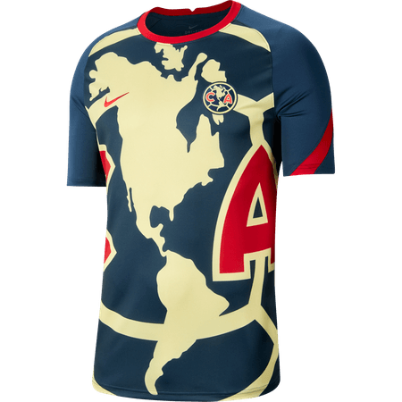 Nike Men's 2020-21 Club America Pre-Match Jersey