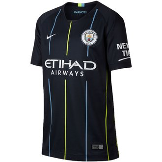 Nike Manchester City 2018-19 Away Youth Stadium Jersey