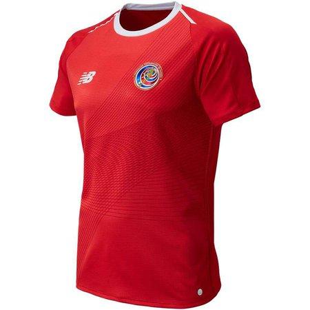 New Balance Costa Rica Jersey de local para la Copa Mundial 2018