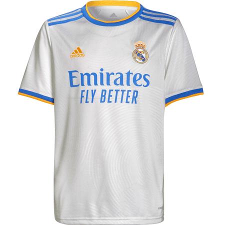 adidas Real Madrid 2021-22 Youth Home Stadium Jersey