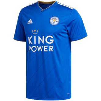 adidas Leicester City 2018-19 Home Replica Jersey
