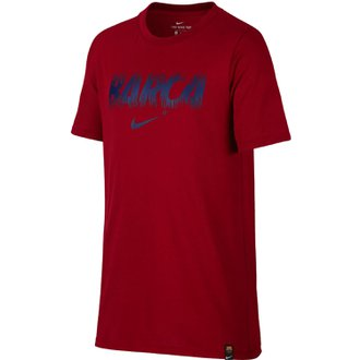 Nike FC Barcelona Youth Dry Tee Preseason