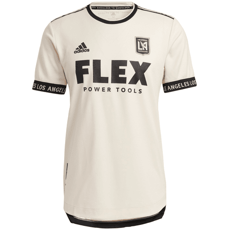 Adidas LAFC 2021 Men's Heart of Gold Away Authentic Jersey