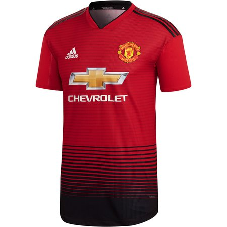 adidas Manchester United Home 2018-19 Authentic Jersey