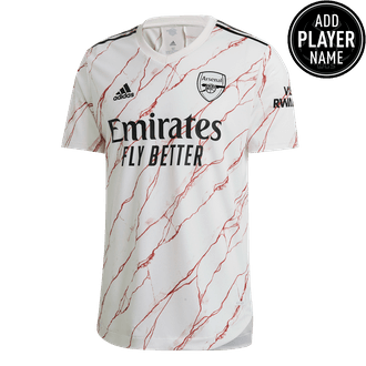 adidas Arsenal Away 2020-21 Authentic Match Jersey