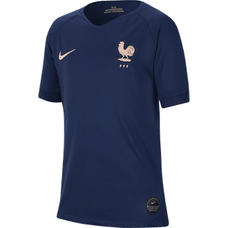 Nike France 2019 Home Youth Stadium Jersey