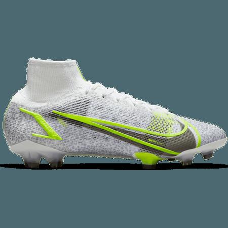 Nike Football Superfly 8 Elite FG - Silver Safari