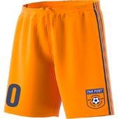 Far Post SC Orange Goalkeeper Short