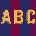 FC Barcelona 2018 Adult Letters