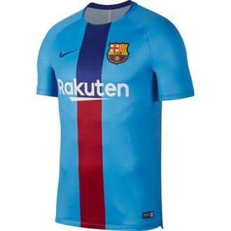 Nike FC Barcelona Dry Squad Top Short Sleeve Top