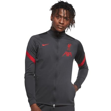 Nike 2020-21 Liverpool Chaqueta de chándal Strike con cremallera completa