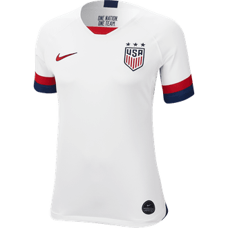 Nike USA 2019 Jersey de Estadio de Local para Mujeres