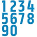 United States Olympic Back Numbers