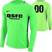 Quickstrike Patriots Green GK Jersey