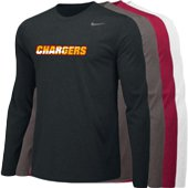 Chargers LS Poly Top