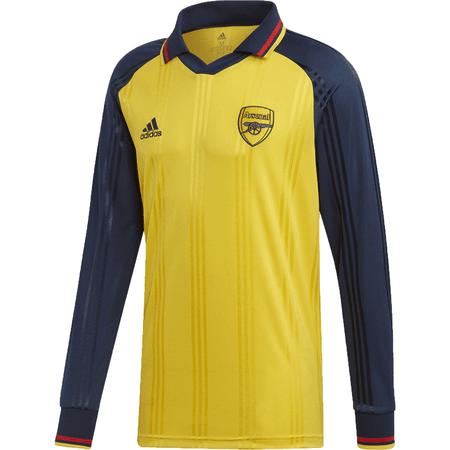 addas Arsenal íconos Camisa Amarilla Manga Larga