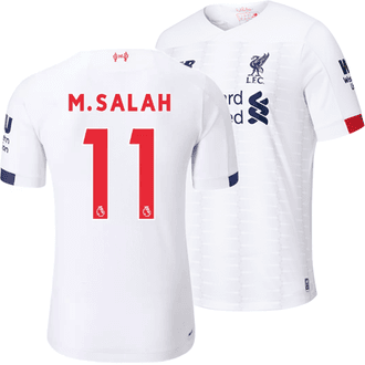 New Balance Liverpool FC 2019-20 Salah Away Stadium Jersey