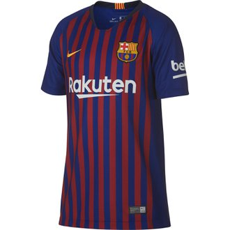 Nike FC Barcelona Home 2018-19 Youth Stadium Jersey