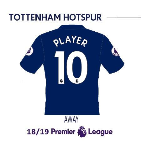 Tottenham Spurs 2019 Name Set