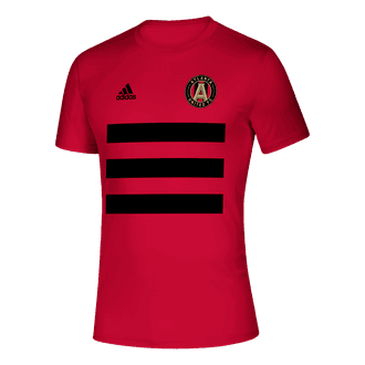 adidas 2021 Atlanta United 3 Stripe Tee