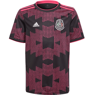 Adidas 2021 Mexico FMF Home Youth Stadium Jersey