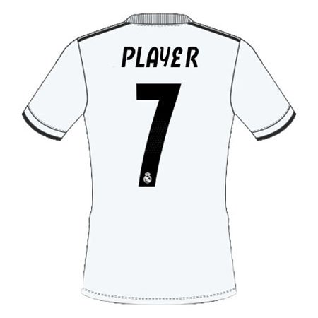 Real Madrid 2018 Youth Name Set Patch